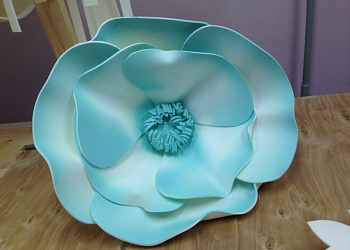 Large flower Tiffany